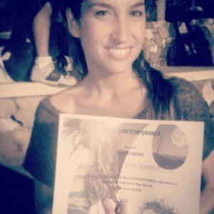 Primer Premio Certamen Coreográfico Mujer Contemporánea